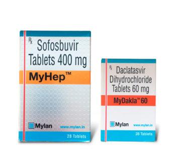 Комплекс Myhep + Mydacla