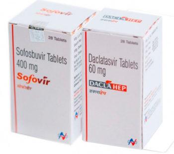 Комплекс Sofovir + Daclahep